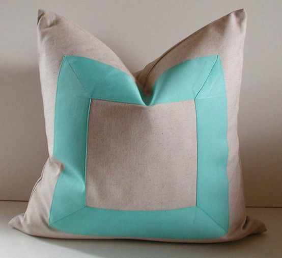 How To Add Grosgrain Ribbon To A Pillow