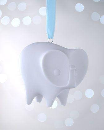 Jonathan Adler Elephant Christmas Ornament Neiman Marcus Christmas Ornaments Pinterest