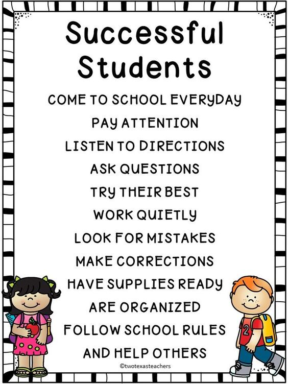 FREE SUCCESSFUL STUDENTS POSTER - THIS WOULD BE A GREAT POSTER OR AS A FIRST PAGE IN A BINDER TO HELP STUDENTS REMEMBER HOW TO BE A  SUCCESSFUL STUDENT!  college student tips #college #student