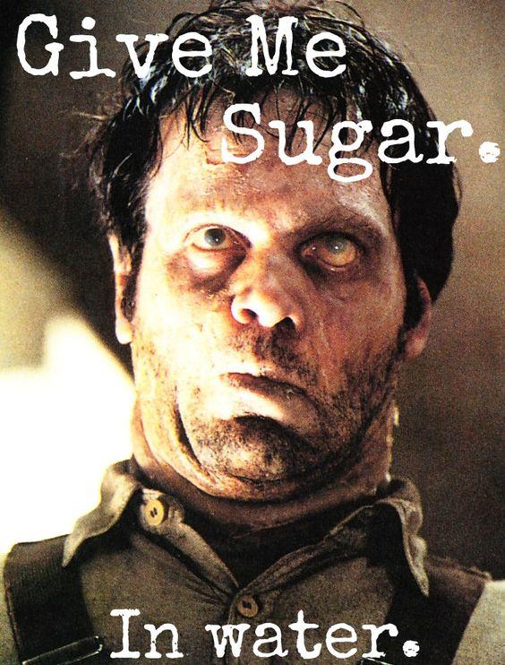 Image result for sugar in water men in black meme