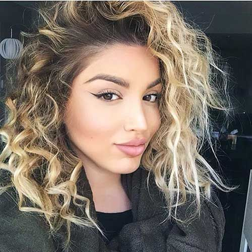 30 Latest Curly Blonde Hair Pics We Adore Curly Hair Styles