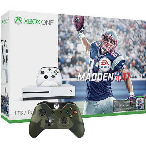 Xbox One S Madden NFL 17 Bundle (1TB)  Xbox One Game  Wireless Controller  Free Shipping - Bundle Deal $349 #LavaHot http://www.lavahotdeals.com/us/cheap/xbox-madden-nfl-17-bundle-1tb-xbox-game/120348