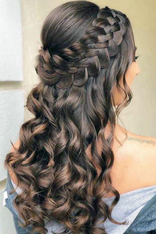 Side Braid Hairstyles Journey To Glamour And Perfection Quince Hairstyles Down Hairstyles For Long Hair Side Braid Hairstyles