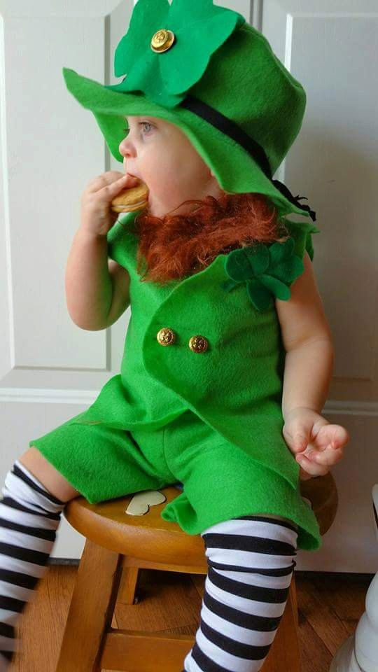 Babys Leprechaun Costume Boys Girls Clothing Boys Leprechaun - Dad turns his 6 month old son into real life leprechaun for st patricks day