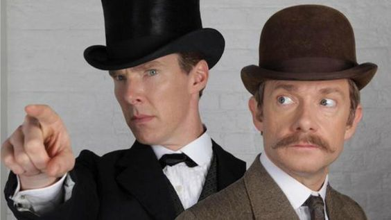We're calling it: A Sherlock and Doctor Who crossover will happen! Here are some clues… #Setlock