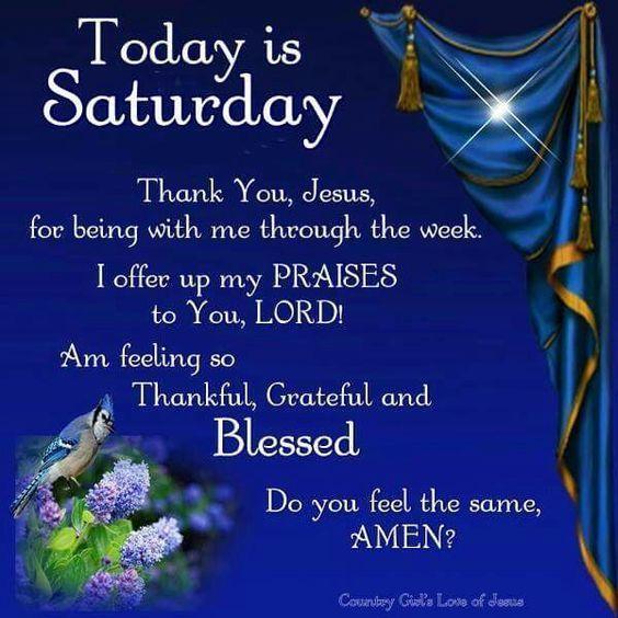 thankful grateful and blessed saturday quote saturday saturday