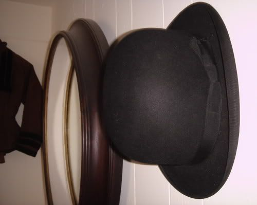 Derby/Bowler Hat information historically for character use, especially since it's a favourite of Digit's to wear.