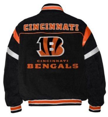 Cincinnati Bengals Leather Jacket find yours at www.myteamjacket.com