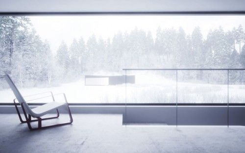 :: ARCHITECTURE :: William O'brien Jr: Twins – Houses In Five Parts,   August 29, 2011 Published by Denis Kovalev  Covet this structure, it relationship to site and the expanse of frameless glazing, absolutely beautiful #architecture... my ideal home in an ideal world !!!