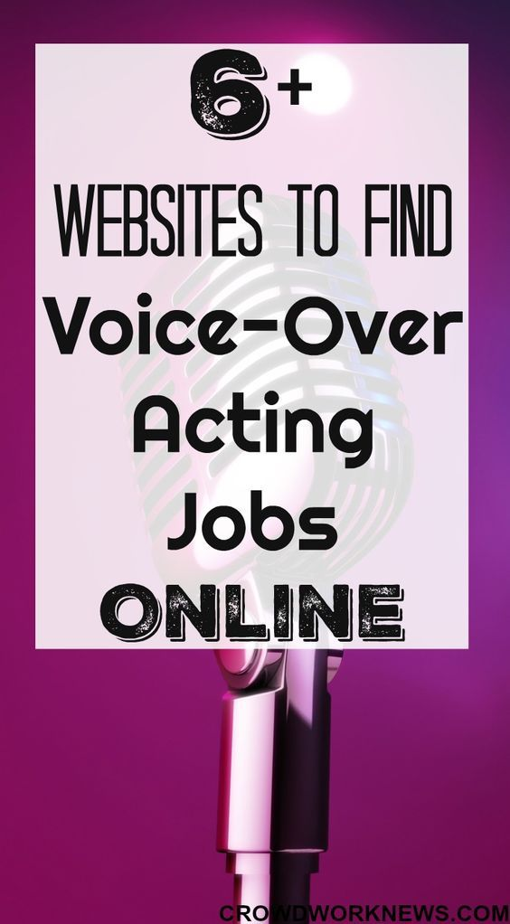 Want To Become A Voice Over Artist And Work From Home Find Out Which Sites To Sign Up To To Start Doing Vo Online Work From Home Legit Online Jobs Online