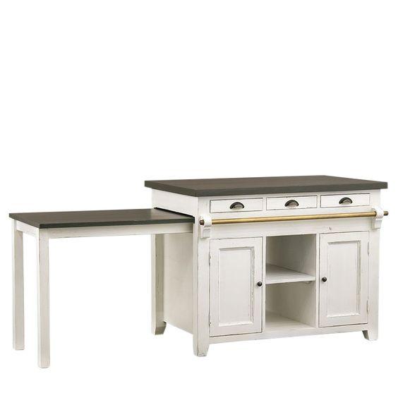 Kücheninsel mit ausziehbarem Tisch Küchen Pinterest Pantry - nobilia küche erweitern