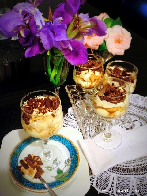 Açúcar Chic - Doces Finos, Artesanais e Embalagens: Tiramisù para o Dia dos Pais - Trifle Tiramisu for Father´s Day