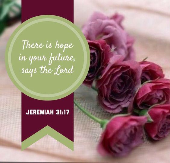 Jeremiah 31:17: