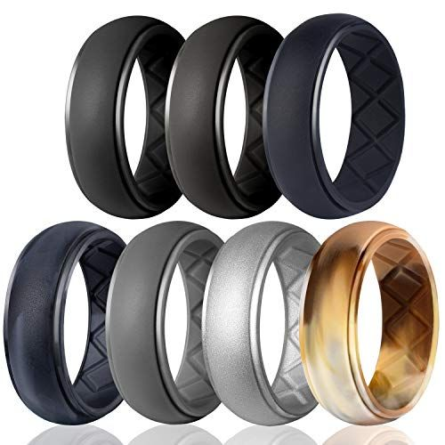 Top 10 Mens Silicone Wedding Rings Of 2020 No Place Called Home Mens Rubber Wedding Bands Silicone Wedding Band Mens Rubber Wedding Band