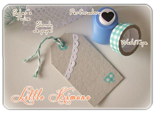 ❣ Little Kimono Handmade ❣ : Tarjetas / Etiquetas para productos 100% Handmade