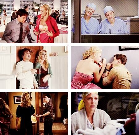 Izzie: I'm in love with this incredible guy and we're having problems. And my best friend, he would know what to say to me about it. I need to be able to talk to my best friend. I cannot get through this without my best friend.  George: Why isn't this easier? Izzie: I don't know. George: Well, I want my best friend back. Izzie: Me too.