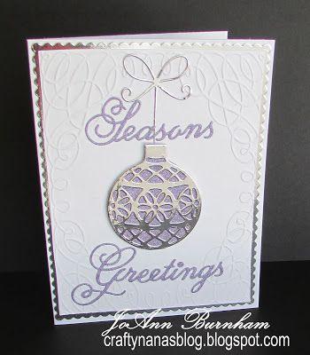 Crafty Nana's Blog: Season's Greetings for Merry Monday