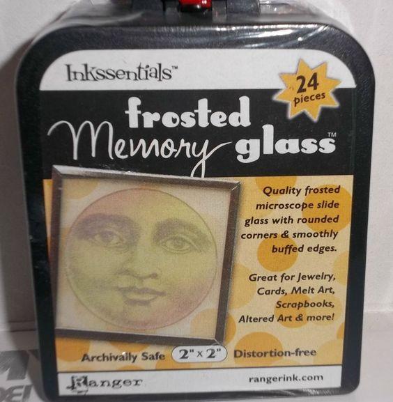 RANGER INKSSENTIALS MEMORY GLASS 24 2' X 2' NEW SEALED