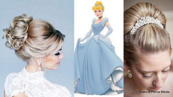 Fryzury ślubne Księżniczek Disneya | Szalona Panna Młoda