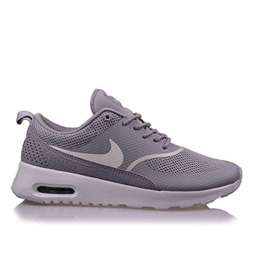 fashion buying cheap classic nike air max thea damen sneakers hellgrau grau