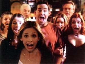 Buffy the Vampire Slayer. I totally went through a Buffy phase.