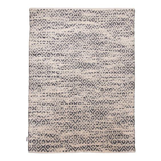 Teppich Diamond - Grau - 65 x 135 cm, Tom Tailor günstig und sicher online bestellen!