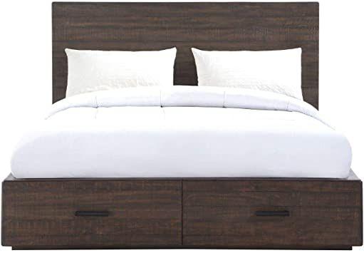 Modus Mckinney Storage Bed Full Espresso Pine Platform Bed Mattress Best Platform Beds Storage Bed