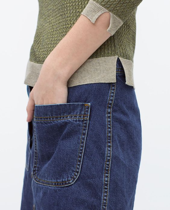 Bild 6 von Pullover mit kleinem Zopfmuster von Zara