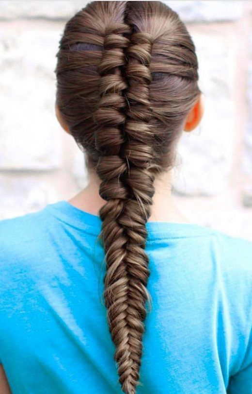 20 Quick And Easy Braids For Kids Tutorial Included Lazy Girl Hairstyles Little Girl Braids Hair Styles
