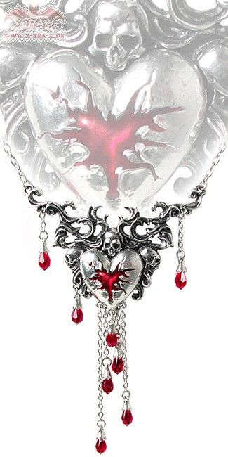 Pendant 'Bleeding Heart'