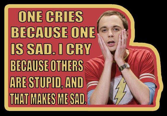 I love Sheldon!  #