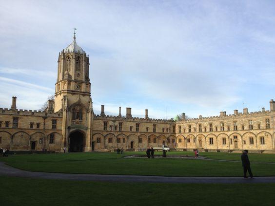Christ Church Oxford England UK '13/12/14