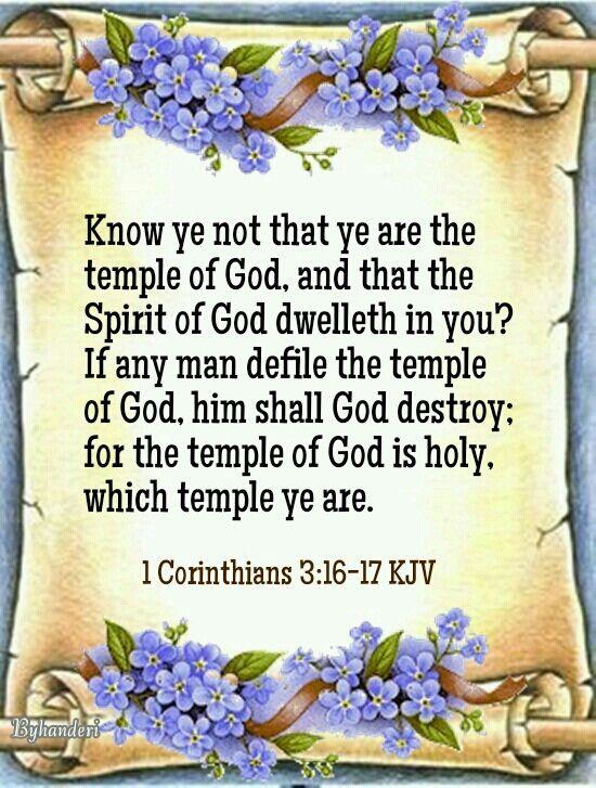 1 Corinthians 3:16-17 KJV