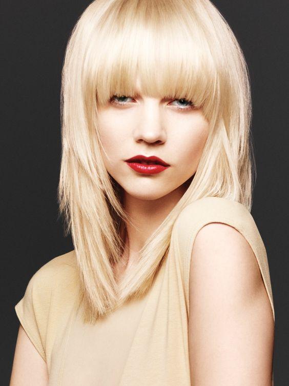 welche haarfarbe steht mir mittellnges haar blond