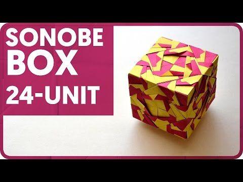 Sonobe Box (24 - Unit) - YouTube