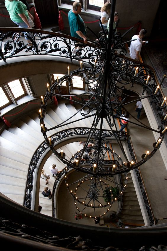 Biltmore Staircase ~ Wow