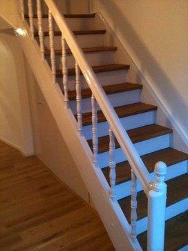 Treppenrenovierung landhausstil
