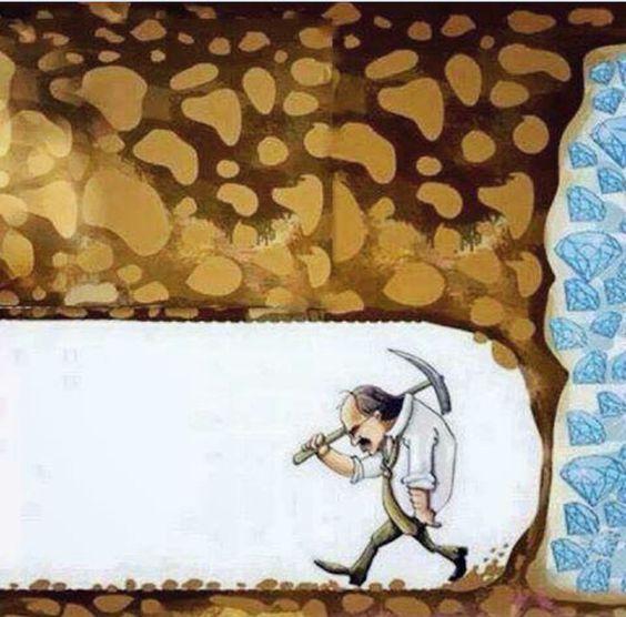 Gib niemals auf, wer weiß ob du es nicht doch geschafft hättest!