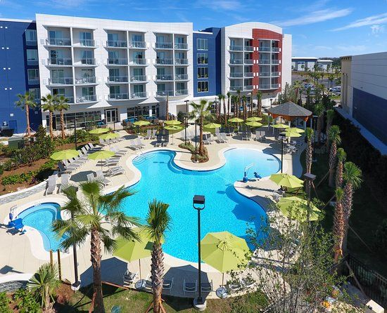 Springhill Suites Orange Beach At The Wharf 101 1 1 9 Updated 2018 Prices Hotel Reviews Outdoor Pool The Wharf Orange Beach
