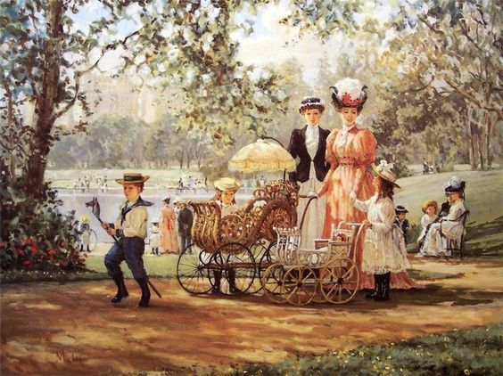 Малей А.    Прогулка в парке.