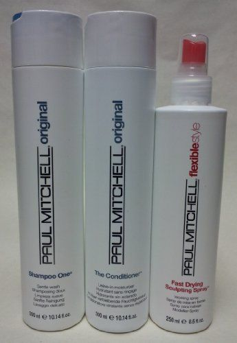 paul mitchell shampoo one the conditioner and fast drying sculpting spray set by paul mitchell. Black Bedroom Furniture Sets. Home Design Ideas