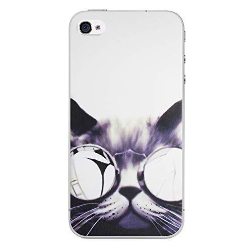 iPhone 4/4s Animaux Amusant Étui en Silicone/Coque de Gel pour ...