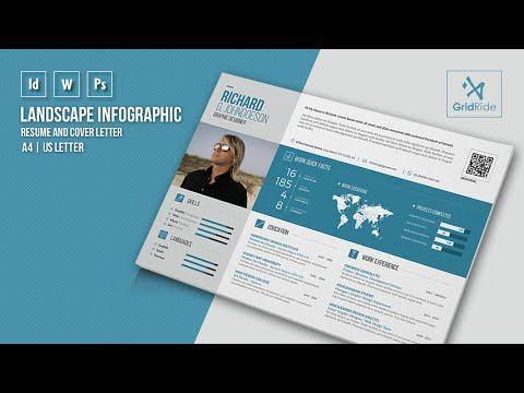 Creative Resume and CV Template g1 u2013 A4 Landscape Design Haven - landscape resume