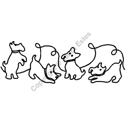 Animal Stencils For Quilting : Quilting Stencils > Animal Stencils - Item: 7