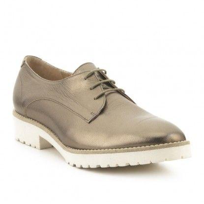 Zapato blucher masculino piel FOSCO: