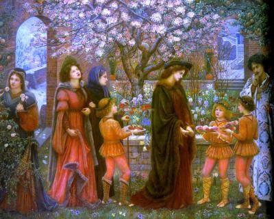 The Enchanted Garden of Messer Ansaldo