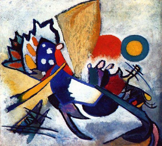 Improvisation 29 - Wassily Kandinsky, 1917