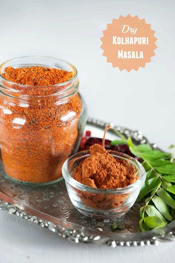 Kolhapuri masala is masala mix used in making spicy Kolhapuri style dishes which are known for the characteristic heat of spicy chilli. There are two types of K