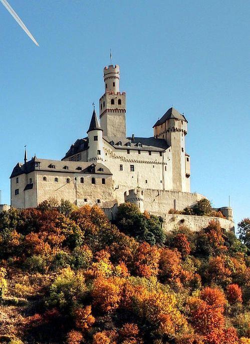 ★Marksburg Castle - Germany  8 . . . . . Burg Marksburg ist eine Festung, gebaut im Jahr 1117 oberhalb der Stadt Braubach am Rhein auf dem Rhein River, Deutschland Jim Hügel Fine Art America 2440