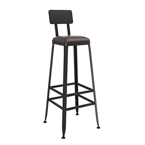 Laxf Counter Height Bar Stools Metal Vintage Style Wrought Iron